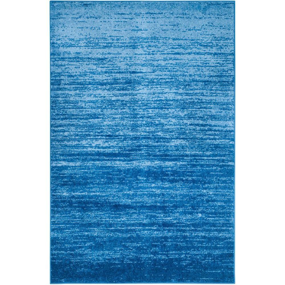 Safavieh Adirondack Light Blue/Dark Blue 6 Ft. X 9 Ft. Area Rug