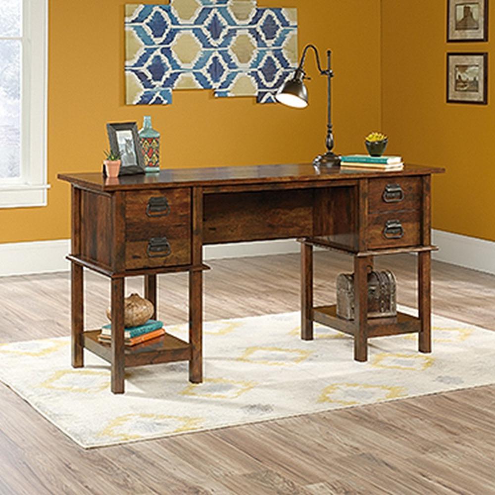 SAUDER Viabella Collection Curado Cherry Desk-420760
