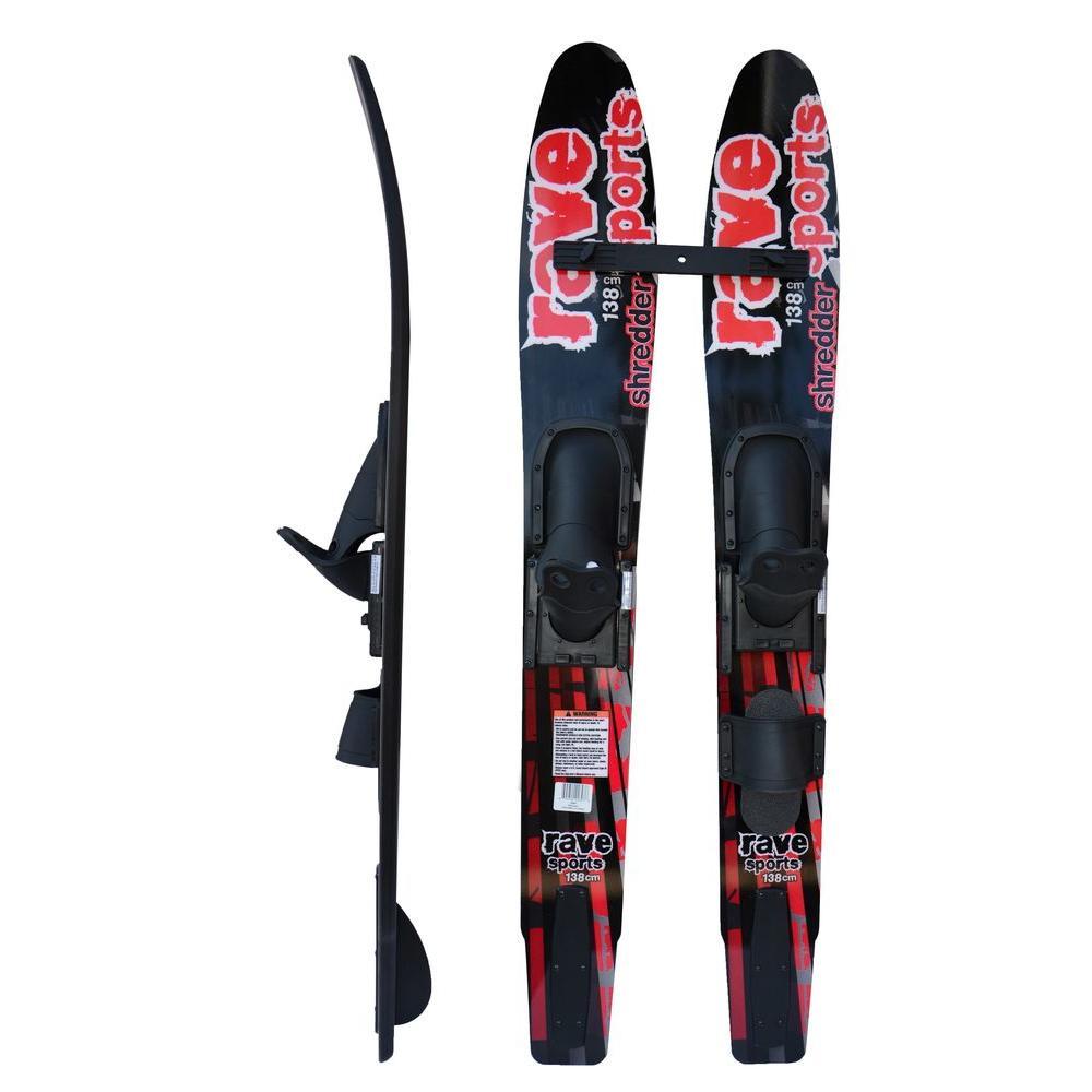 Jr. Shredder 8.5 in. Combo Water Skis