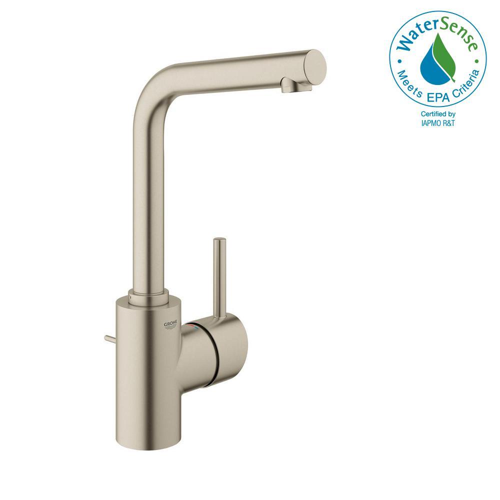VIGO Niko Single Hole Single-Handle Vessel Bathroom Faucet in ...