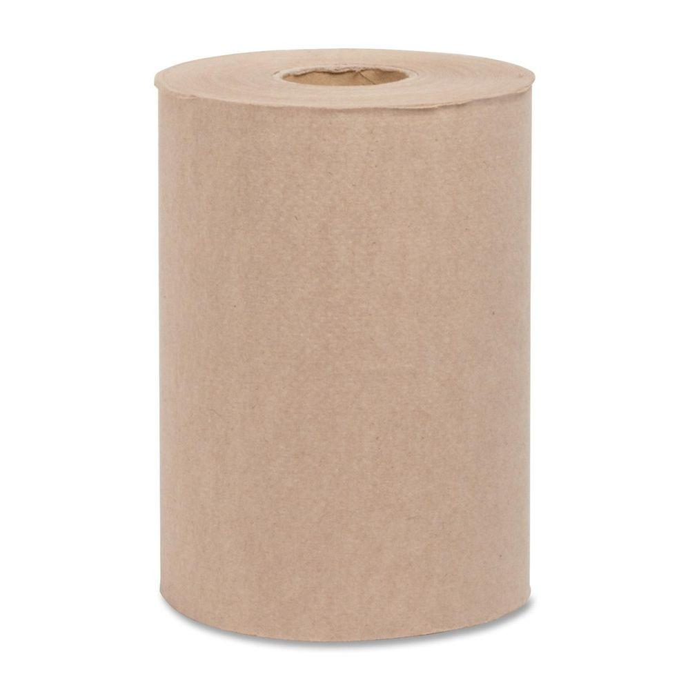 ROLLS 7.88 in. x 800 ft. Embossed Hard-Wound Roll Towels ...