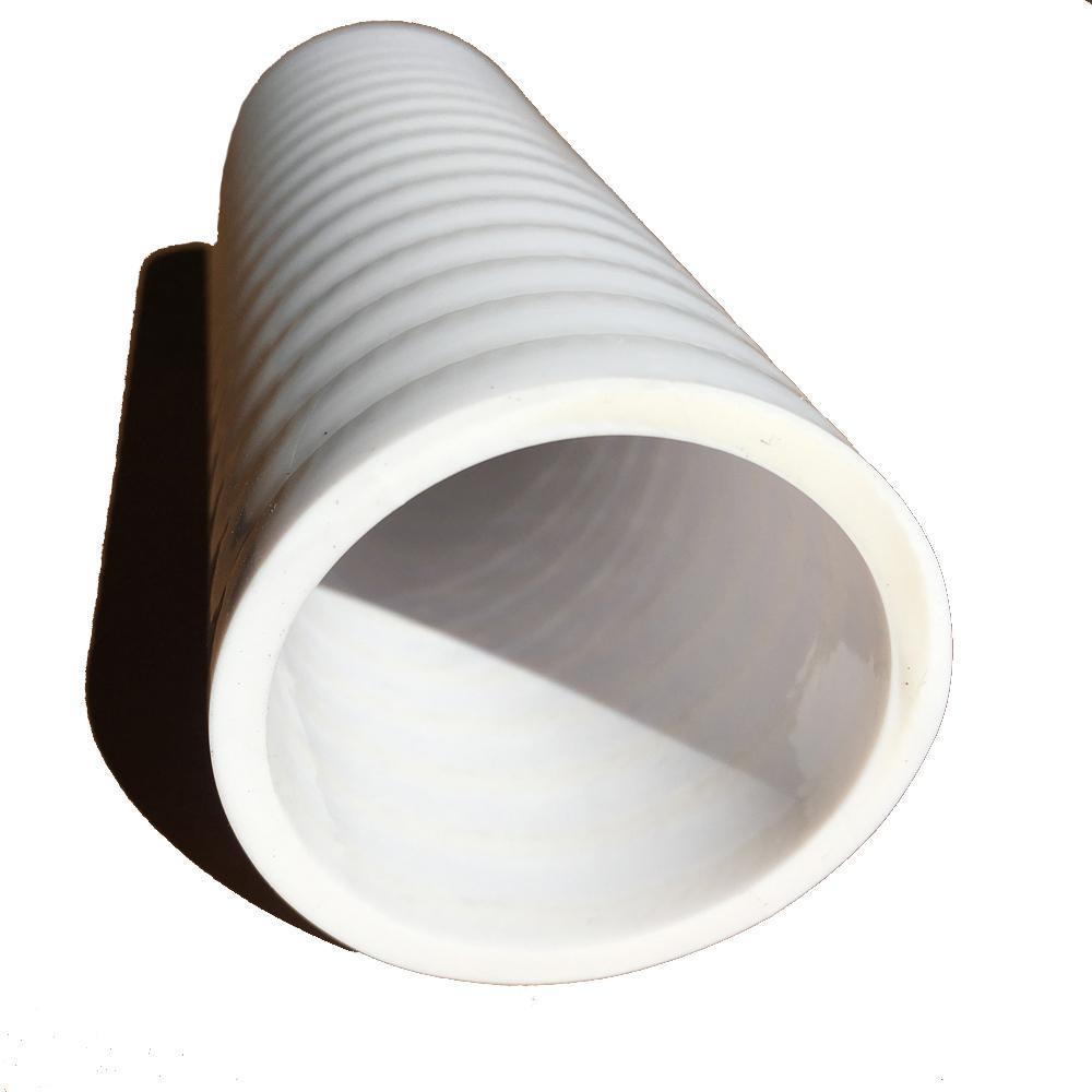 White flexible pipe numatic james