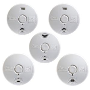 Kidde Worry Free 10-Year Battery Operated Complete-Whole Home Smoke Detector Starter (5-Pack) by Kidde