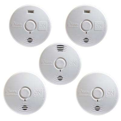 Worry Free 10-Year Battery Operated Complete-Whole Home Smoke Alarm Starter (5-Pack)