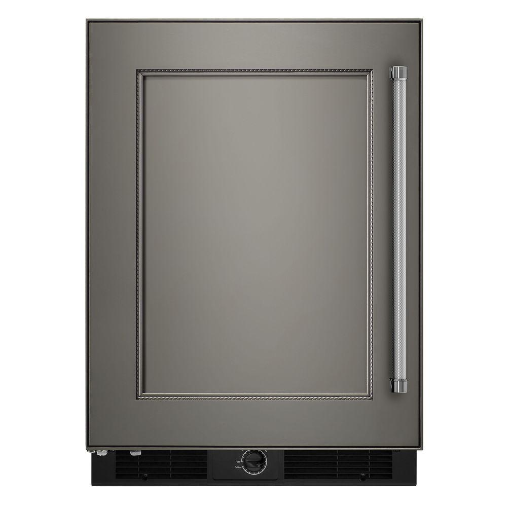 Kitchenaid 4 9 Cu Ft Undercounter Refrigerator In Panel