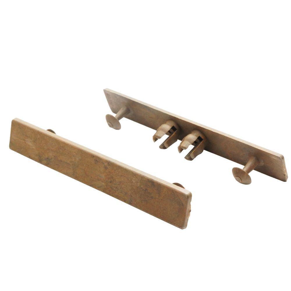 Deck-A-Floor Premium Peruvian Teak End Cap for Deck-A-Floor (8-Pieces/Box)