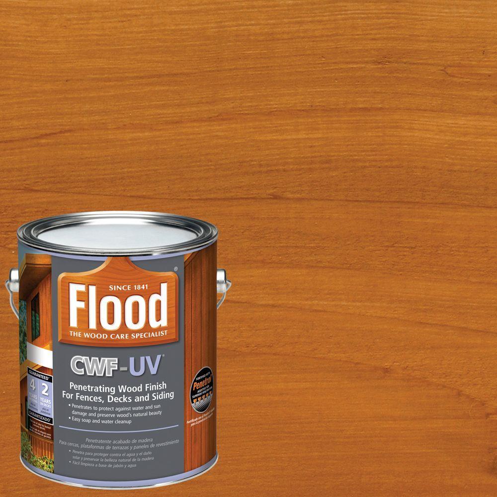 1 gal. Cedar Tone CWF-UV Oil Based Exterior Wood Finish