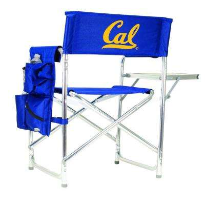 University of California-Berkeley Navy Sports Chair with Digital Logo