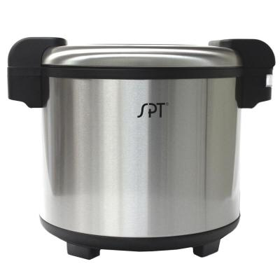 21.1 Qt. Stainless Steel Heavy Duty Rice Warmer (not a cooker) 160 Cup (cooked rice)