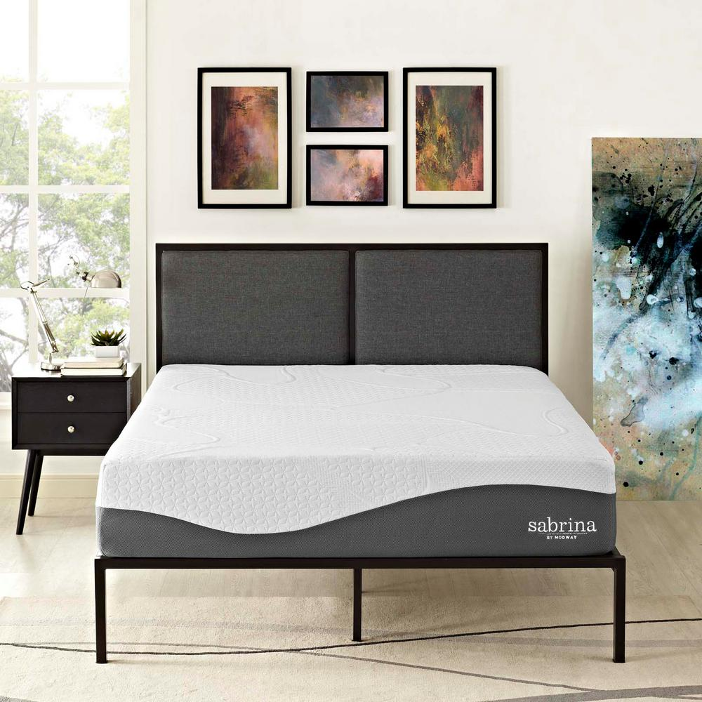 MODWAY Sabrina 12 in. Full Memory Foam Mattress