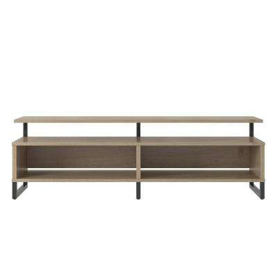 Providence Golden Oak 65 in. TV Stand