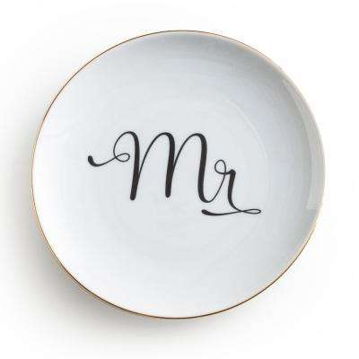 Love Is In The Air White Mr Plate