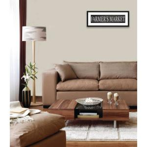 32 in. x 12 in. ''FARMER'S MARKET'' By PTM Images Framed Printed Wall Art
