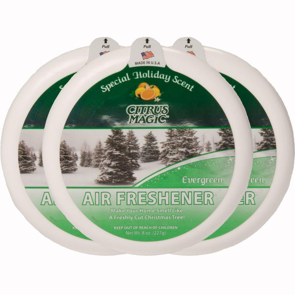 7 oz. Evergreen Odor Absorbing Air Freshener (3-Pack)