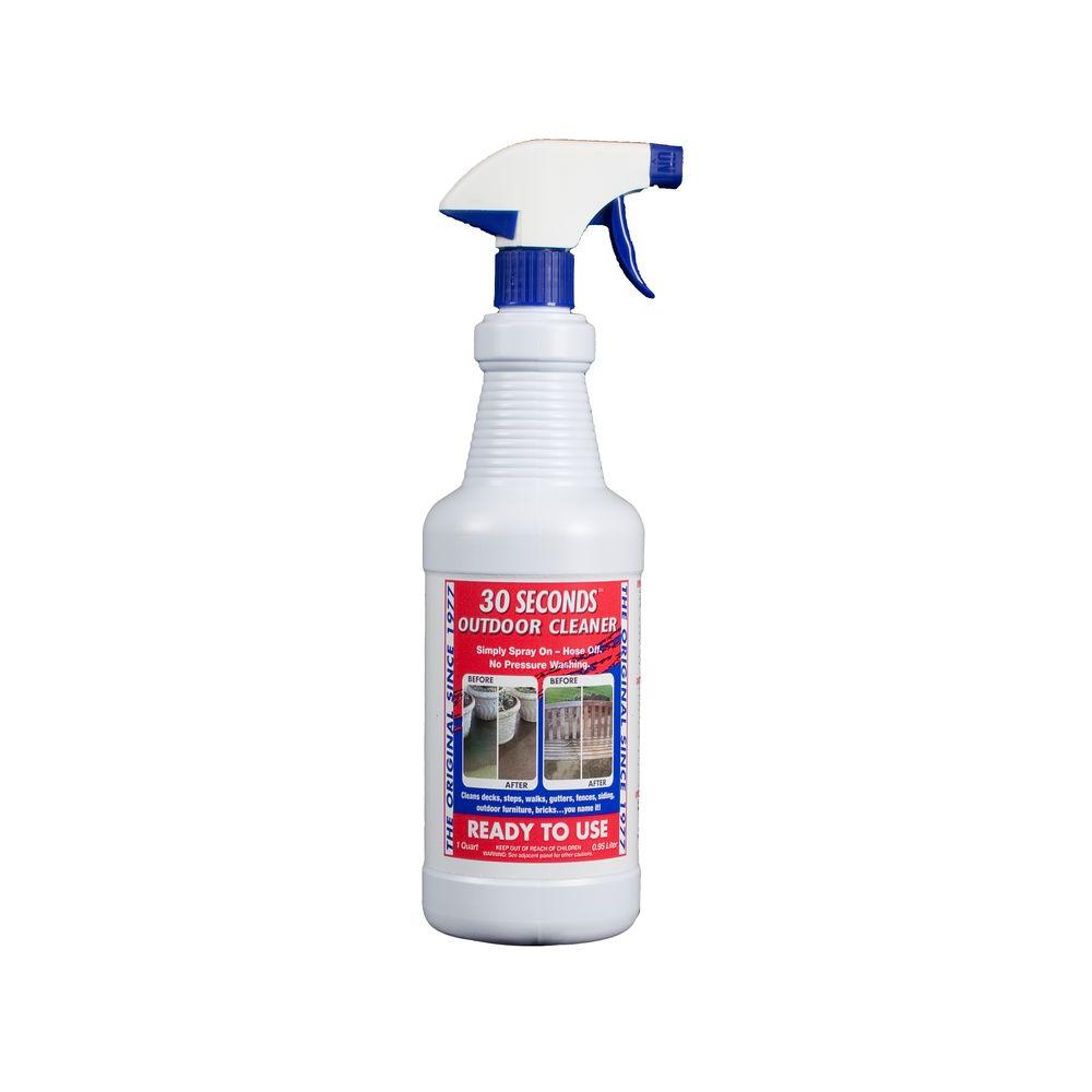30 Seconds 32 oz. Ready-To-Use Outdoor Cleaner-100047550 ...