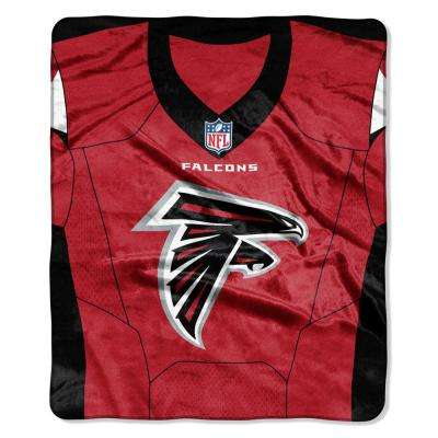 Falcons Jersey Raschel Throw