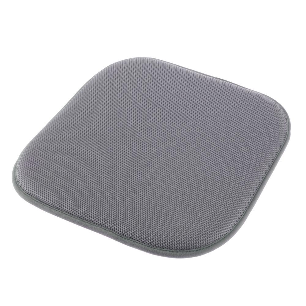 Dark Gray Memory Foam Non-Slip Chair Pad