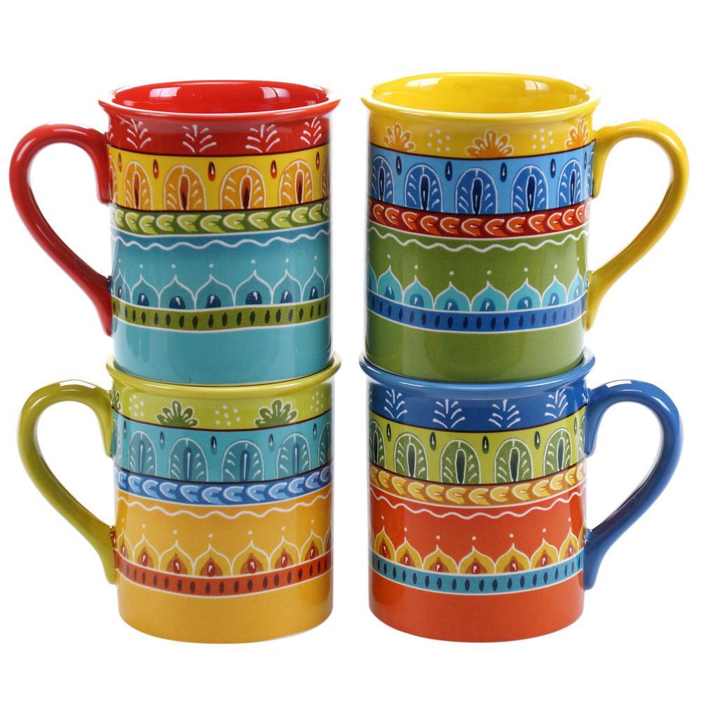 Valencia 16 oz. Mug (Set of 4)