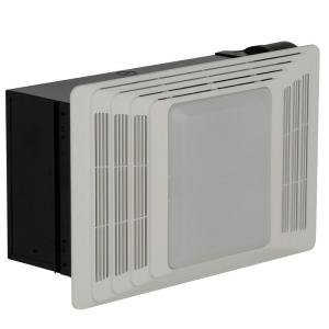 Broan 50 Cfm Ceiling Exhaust Fan With Light And Heater 659
