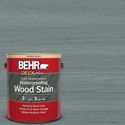 1 gal. #ST-125 Stonehedge Semi-Transparent Waterproofing Exterior Wood Stain
