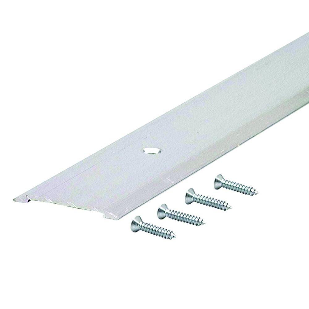 Flat Top 1-3/4 in. x 48-1/2 in. Aluminum Saddle Threshold