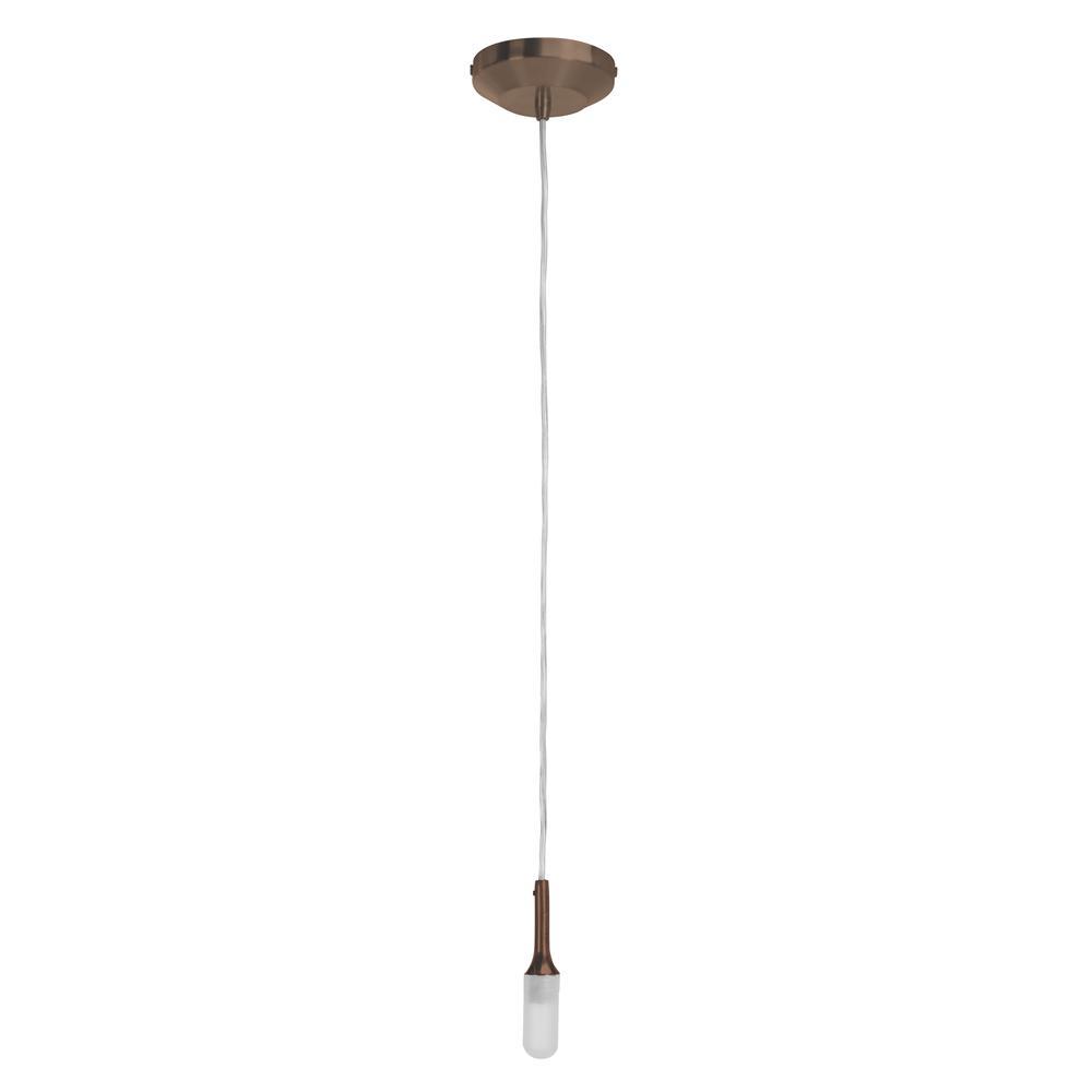 Access Lighting Delta 1-Light Bronze Pendant