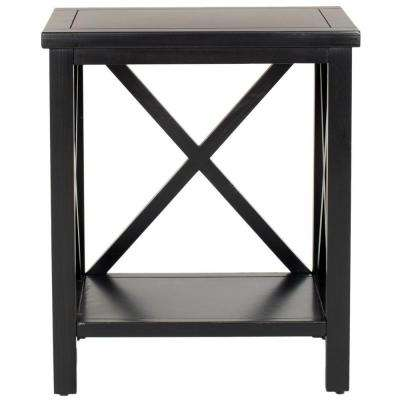 Candence Black End Table