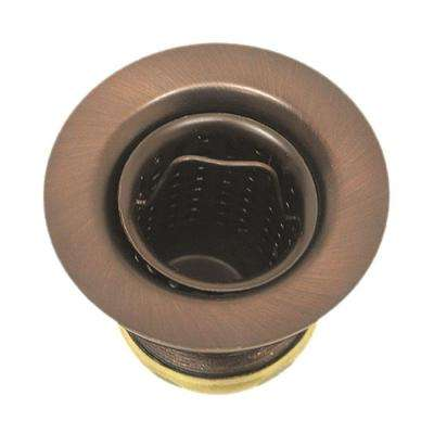 2 in. Basket Sink Strainer in Antique Copper