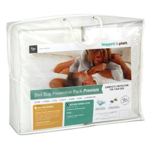 Fashion Bed Group Premium Bed Bug Prevention Pack Plus with InvisiCase Pillow Protector and Easy Zip Bed Encasement... by