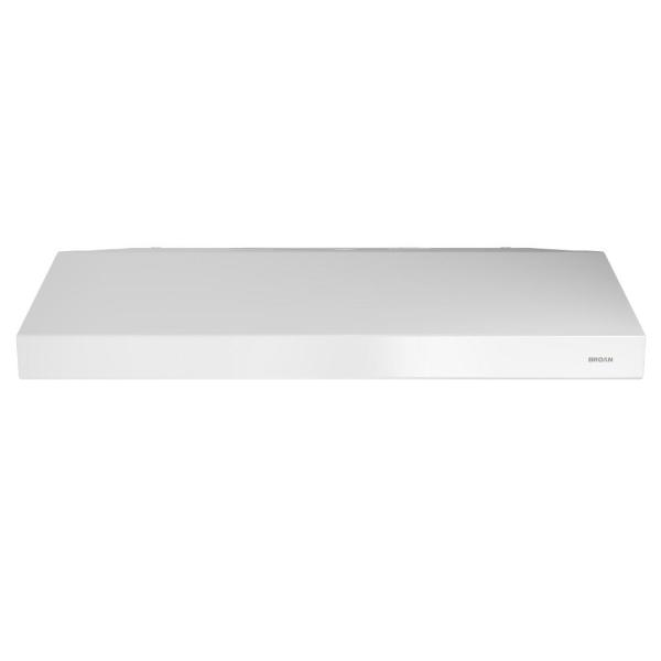 Glacier BCSEK1 30 in. Convertible Under Cabinet Range Hood with Light in White, ENERGY STAR*