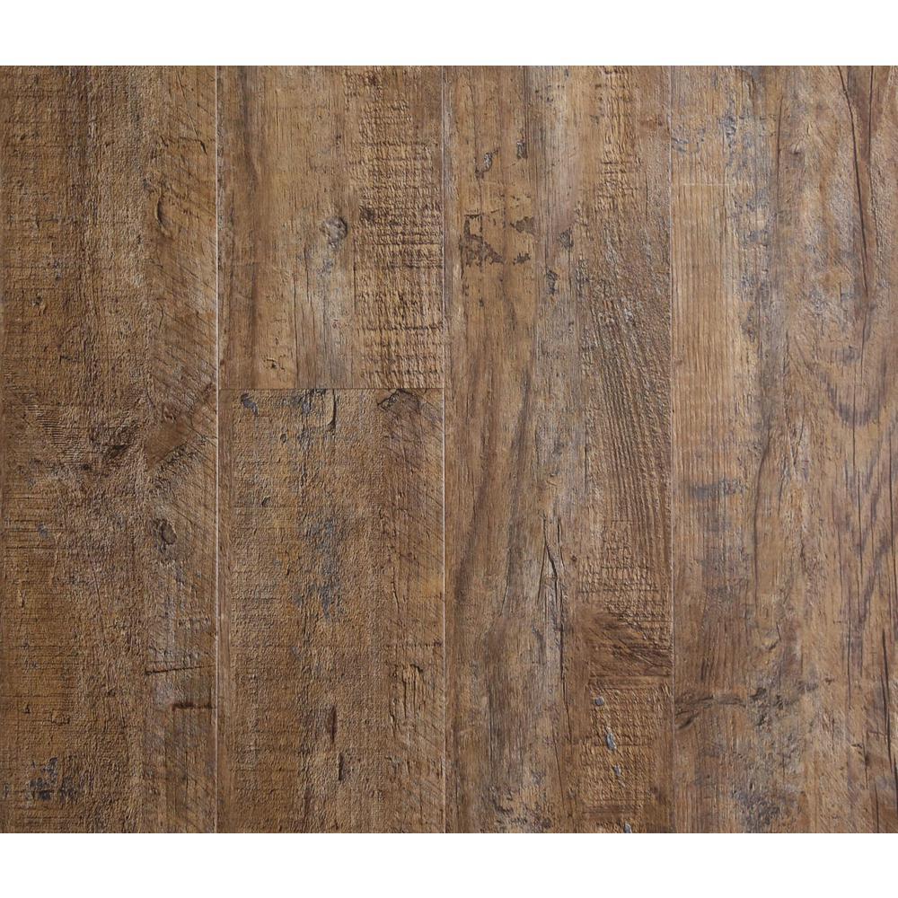 Nubuck Pine 5.87 in. Width x 48 in. Length Vinyl Plank Flooring (9.78 sq. ft. per Box)
