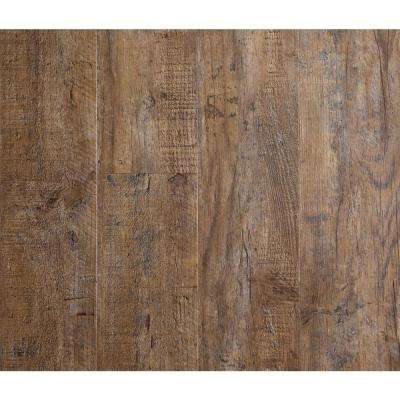 Nubuck Pine 5.87 in. Width x 48 in. Length Vinyl Plank Flooring (9.78 sq. ft. per Box)