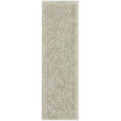 Foliage Accent Rug Sage 9 in. x 29 in. Stair Tread Cover Set (Set of 4)