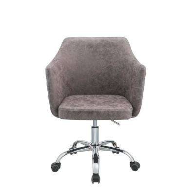 Cosgair Dark Frey Antique Pu Office Chair