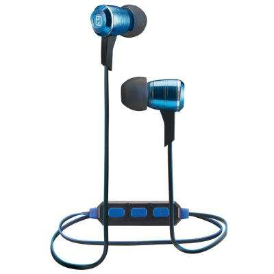 Wireless Bluetooth Metal Earbuds with Mic+ Remote