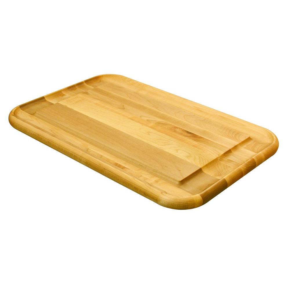 Catskill Craftsmen Hardwood Cutting Board with Holding Wedge