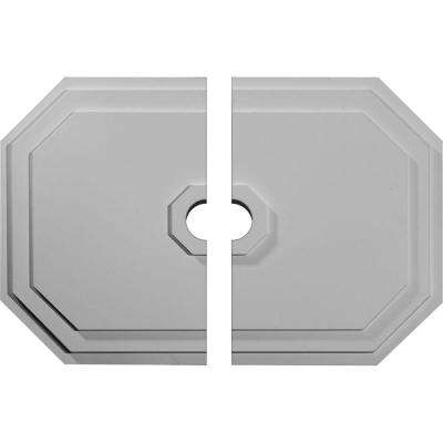 25-1/4 in. W x 17-1/4 in. H x 1-3/4 in. P Felix Ceiling Medallion (2-Piece)