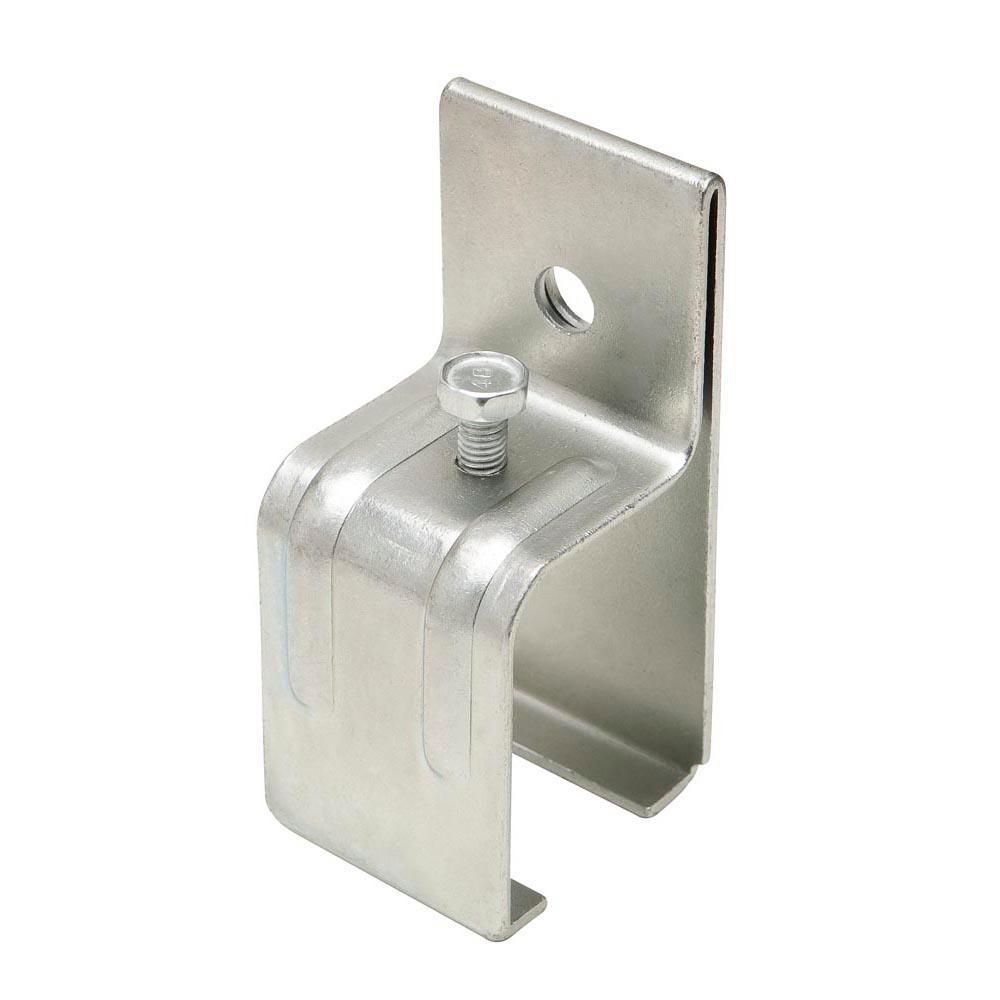 Galvanized Box Rail Splice Bracket