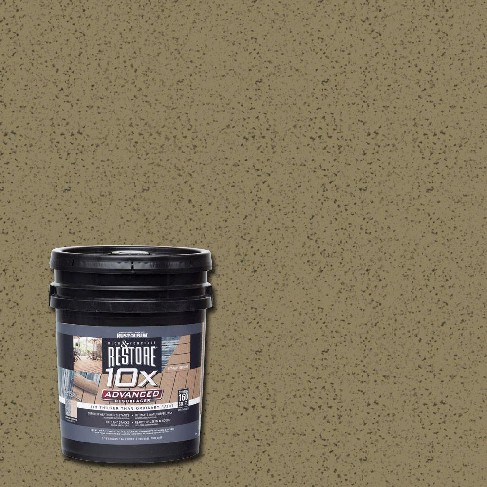 Rust-Oleum Restore 4 gal. 10X Advanced River Rock Deck and Concrete Resurfacer