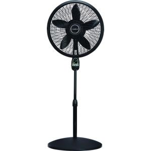 oscillating pedestal fan with remote control