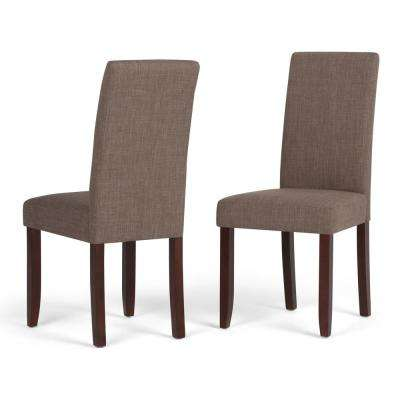 Acadian Light Mocha Parsons Dining Chair (Set of 2)