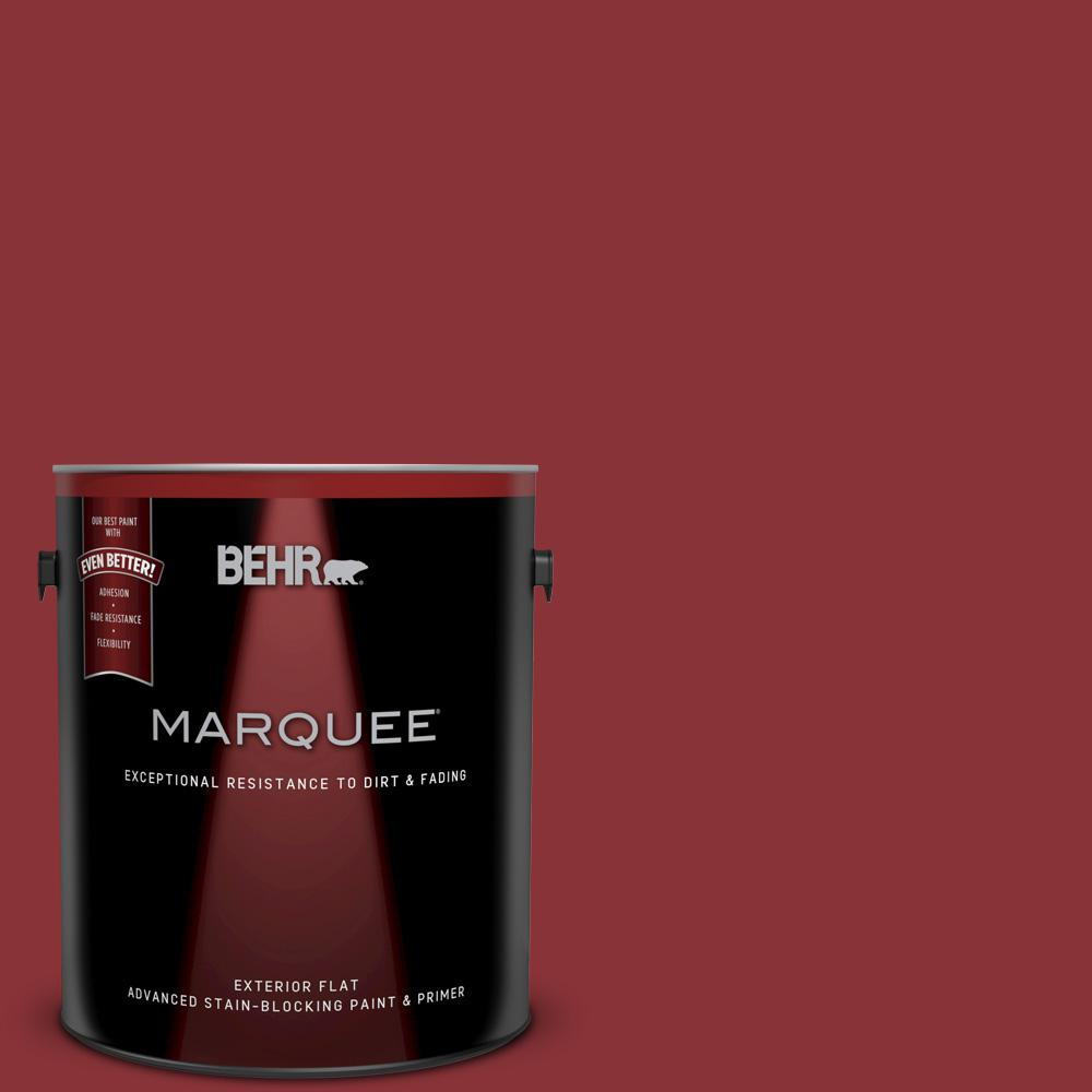 Qe 07 Country Lane Red Flat Exterior Paint