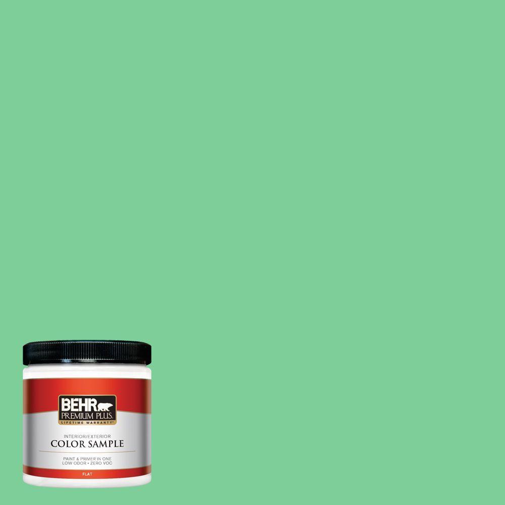 BEHR Premium Plus 8 oz. #460B-4 Garden Glow Interior/Exterior Paint Sample