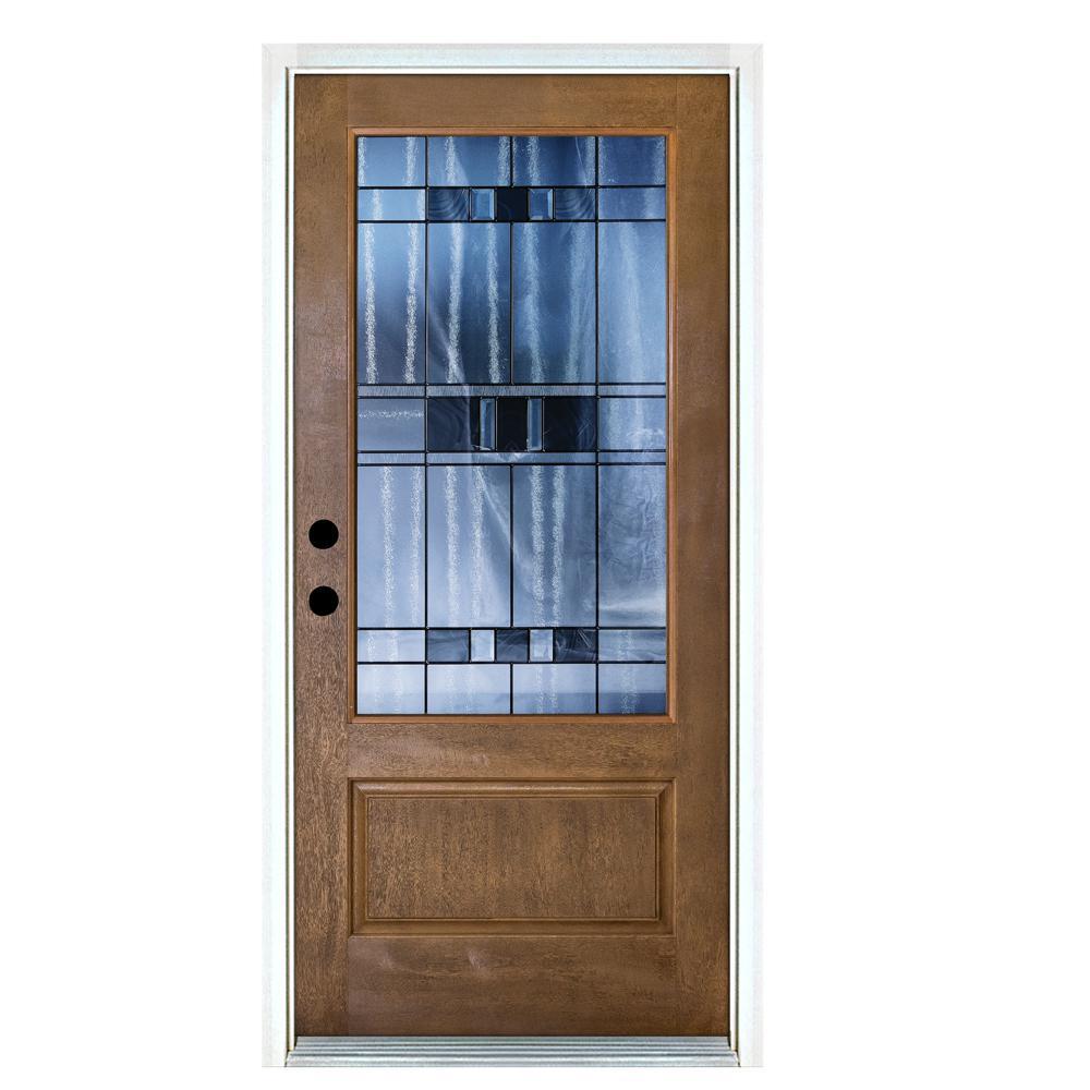 Mp doors 36 in x 80 in savana classic 34 lite medium oak right mp doors 36 in x 80 in savana classic 34 lite medium rubansaba
