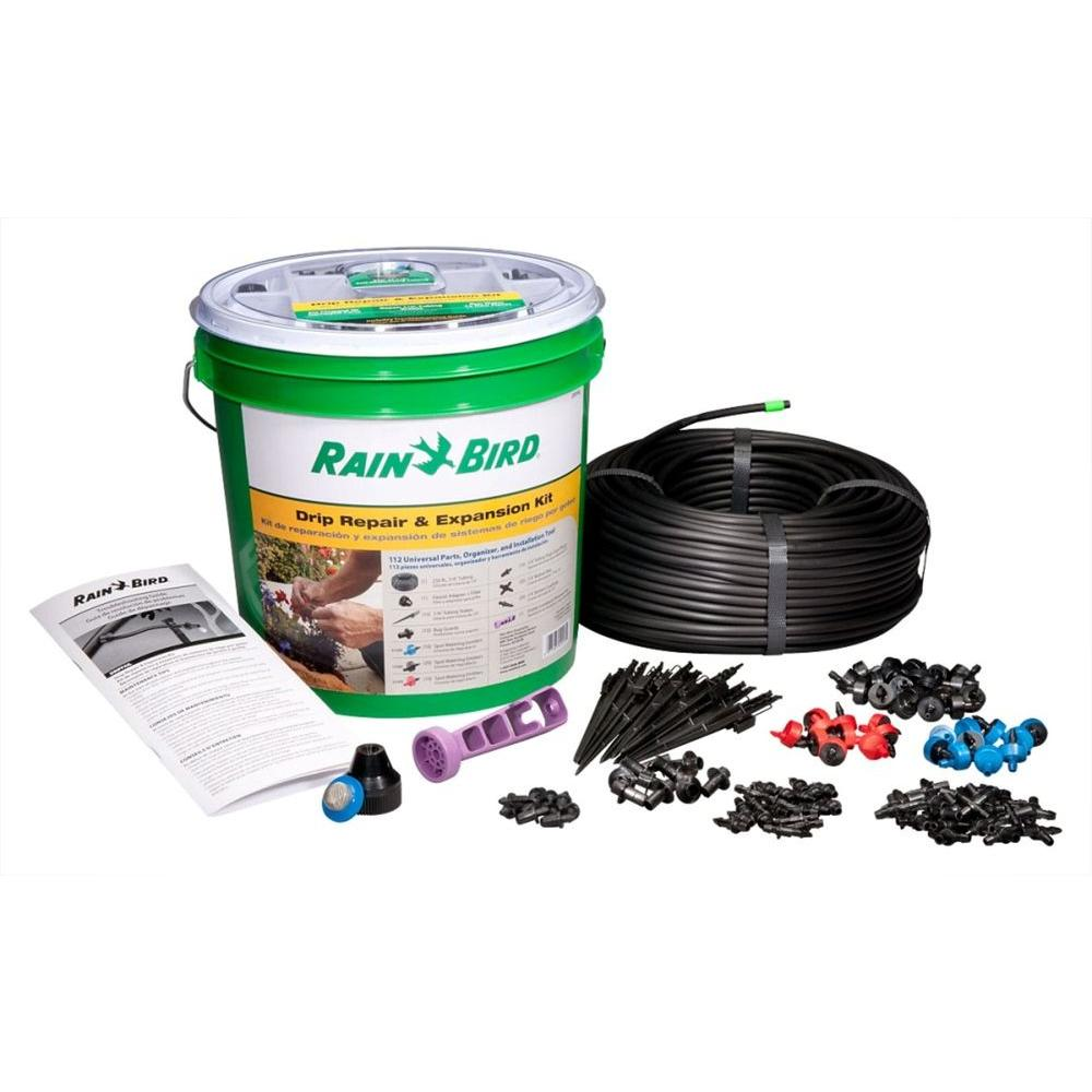 Rain Bird Drip System Expansion and Repair Kit-DRIPPAILQ - The ...