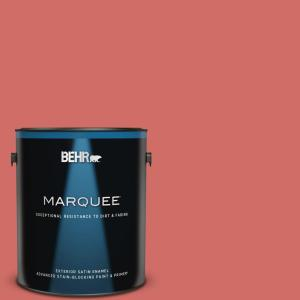 1 gal. #M160-6 Matadors Cape Satin Enamel Exterior Paint and Primer in One