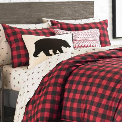 Mountain Plaid Duvet Cover Set