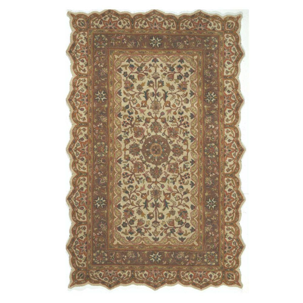 Masterpiece Taupe 2 ft. x 3 ft. Area Rug