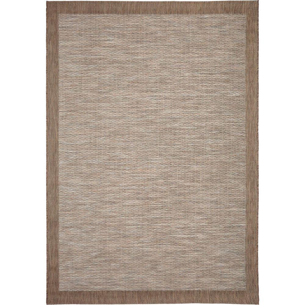Orian Rugs Shoreline Border Gray 5 Ft. 1 In. X 7 Ft. 6