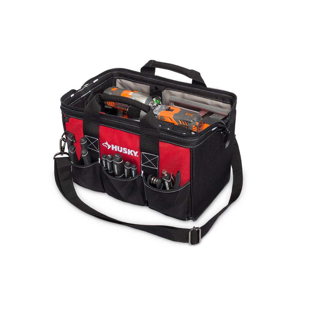 Husky 15 In Tool Bag 82177n17 The Home Depot